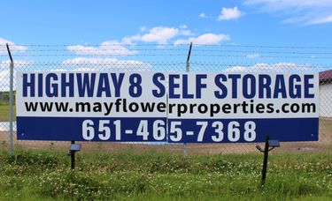 Highway 8 Self Storage signage