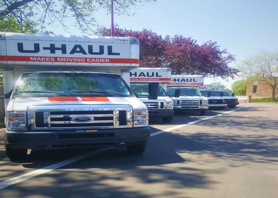 U-Haul Truck Rentals at New Hope Storage
