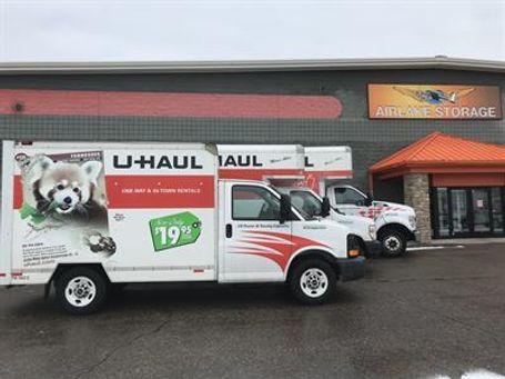 U-Haul Truck Rentals at Airlake Storage