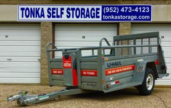 U-Haul Truck & Trailer Rentals at Tonka Self Storage