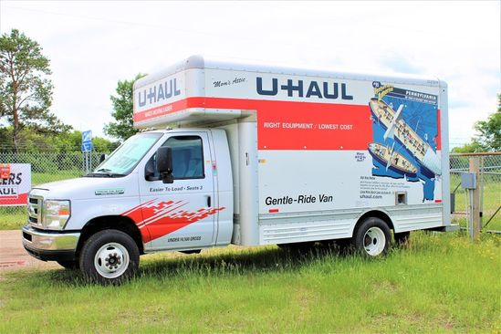 U-Haul Truck Rentals available at Highway 8 Self Storage