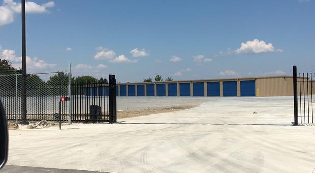 Cotton Creek Mini Storage Front Gate