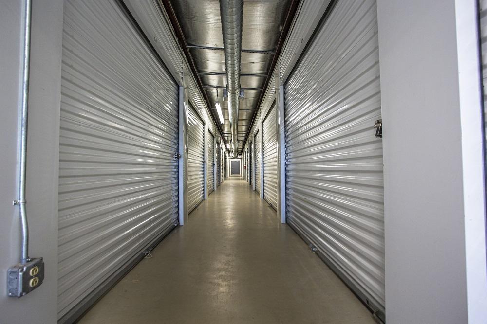 inside of storage units