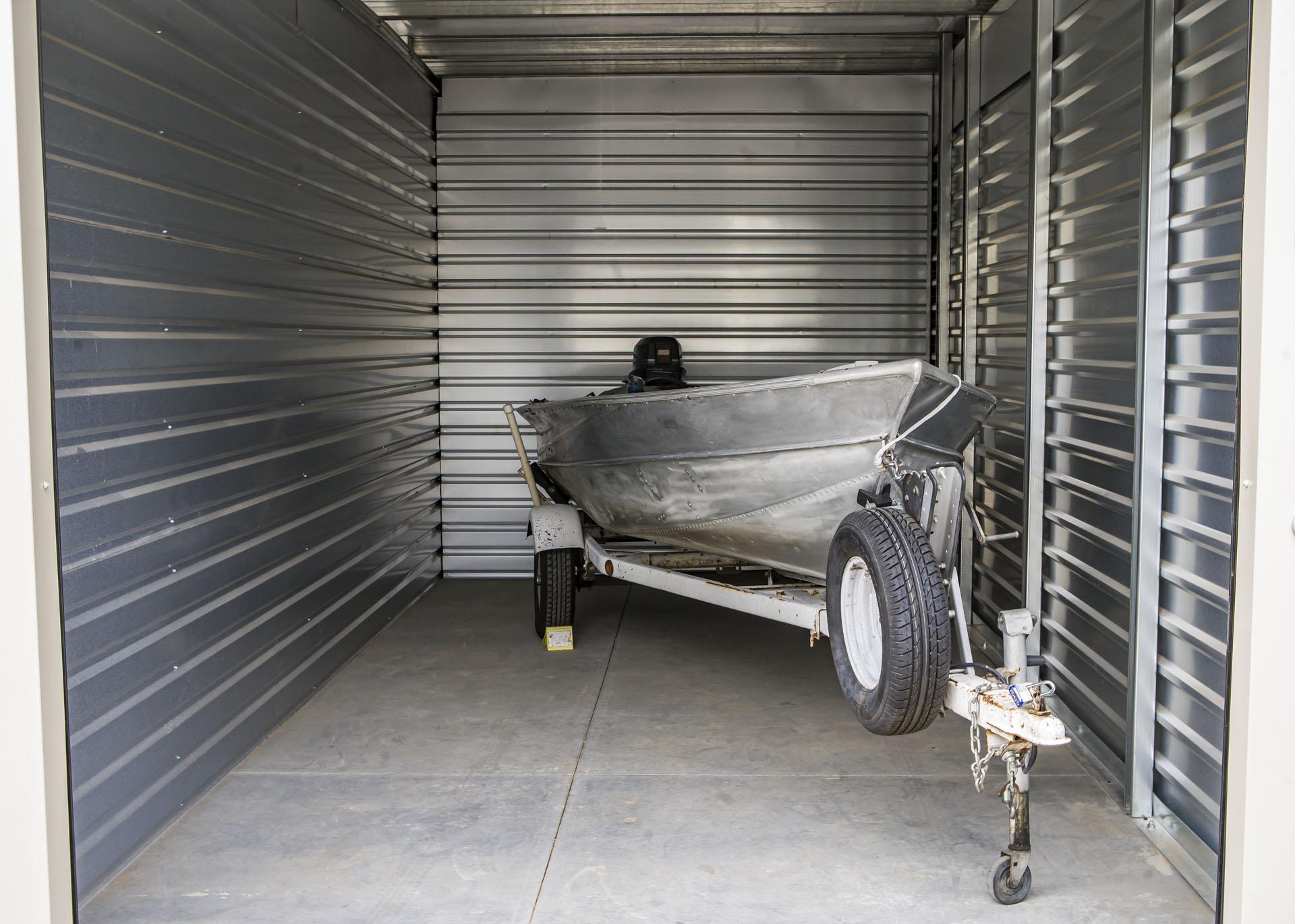 small boat storage