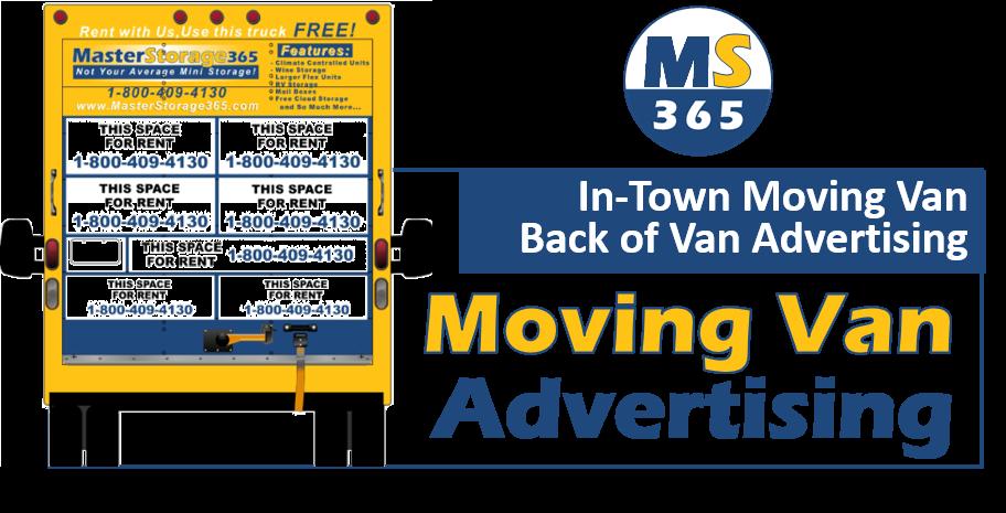 Moving Van Ad Panel