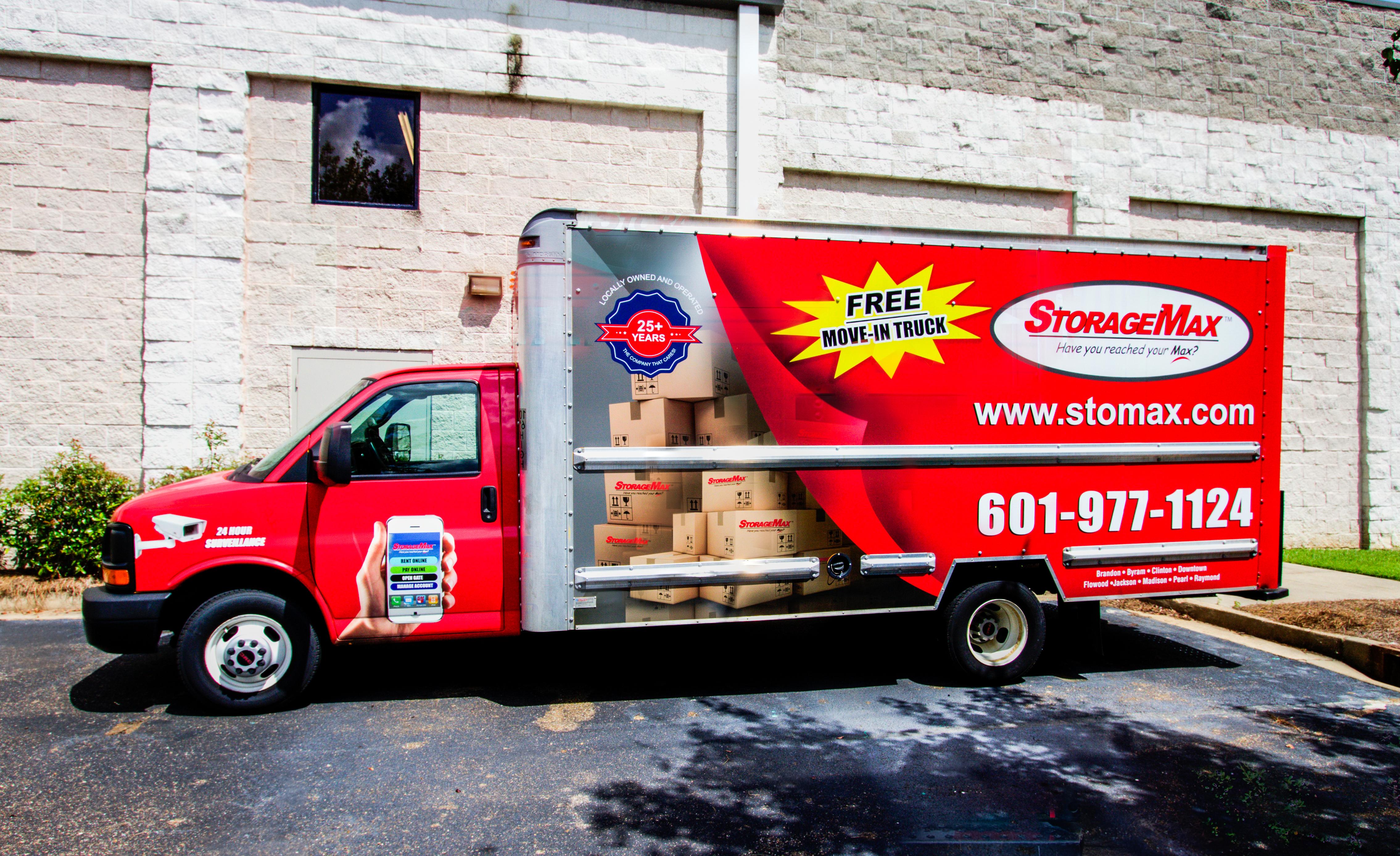 Free StorageMax Truck