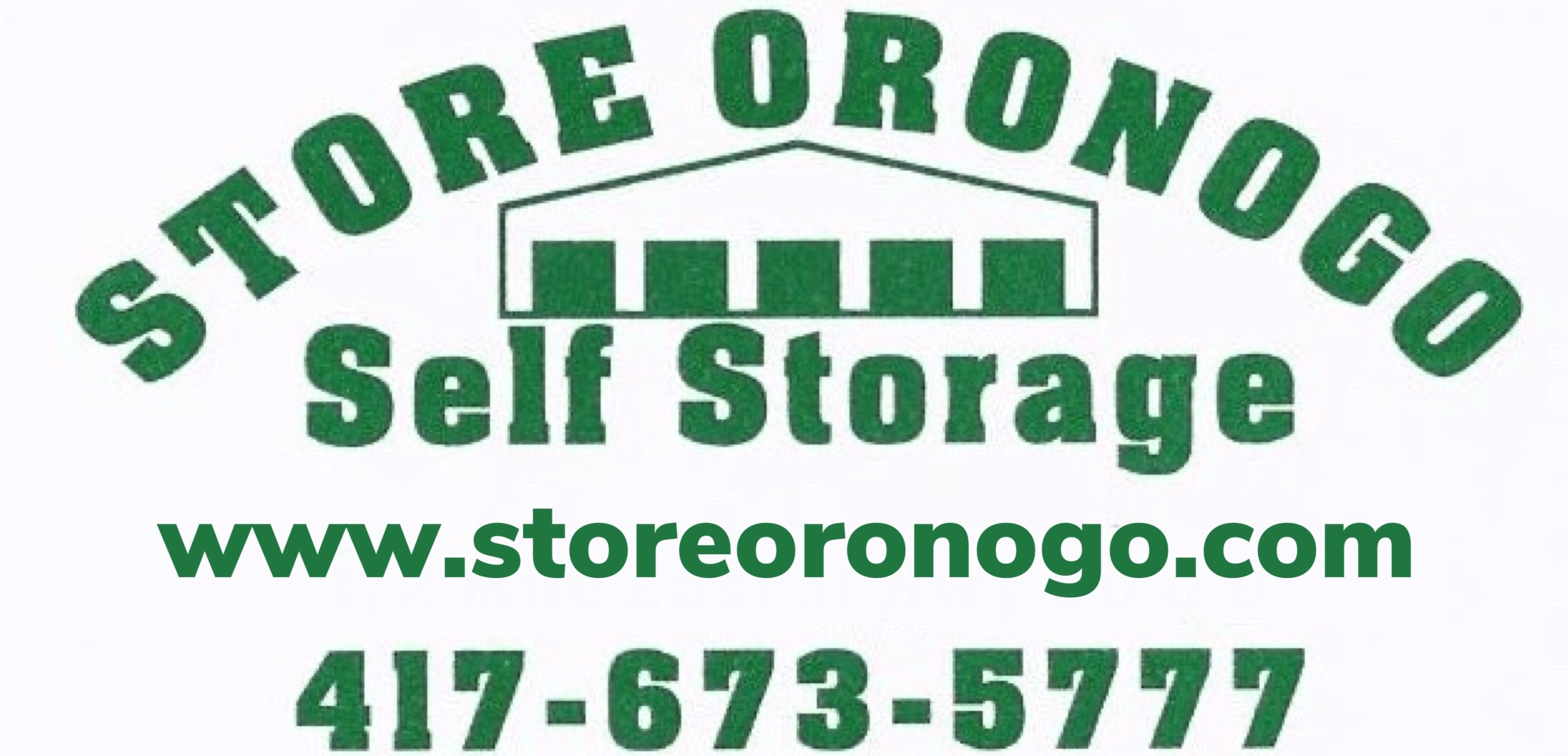 Store Oronogo Self Storage in Webb City, MO