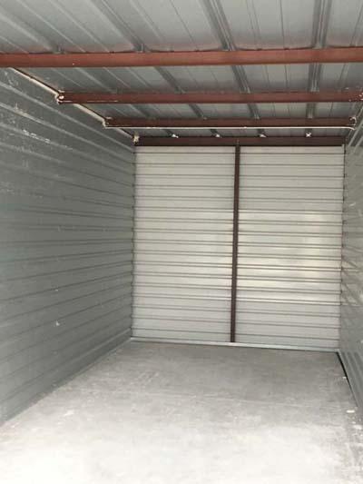 inside storage unit midlothian tx