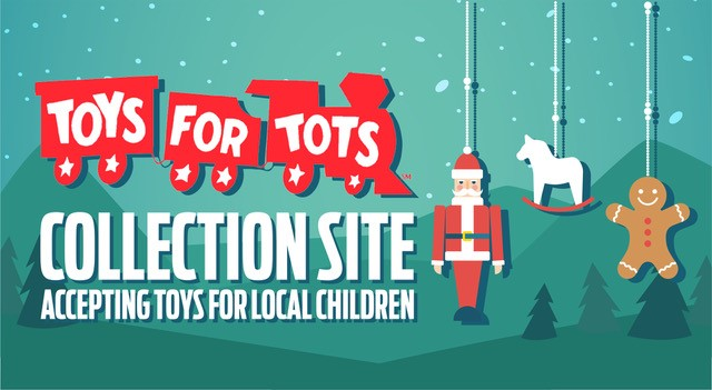 TOYS FOR TOTS DONATION LAKEVILLE
