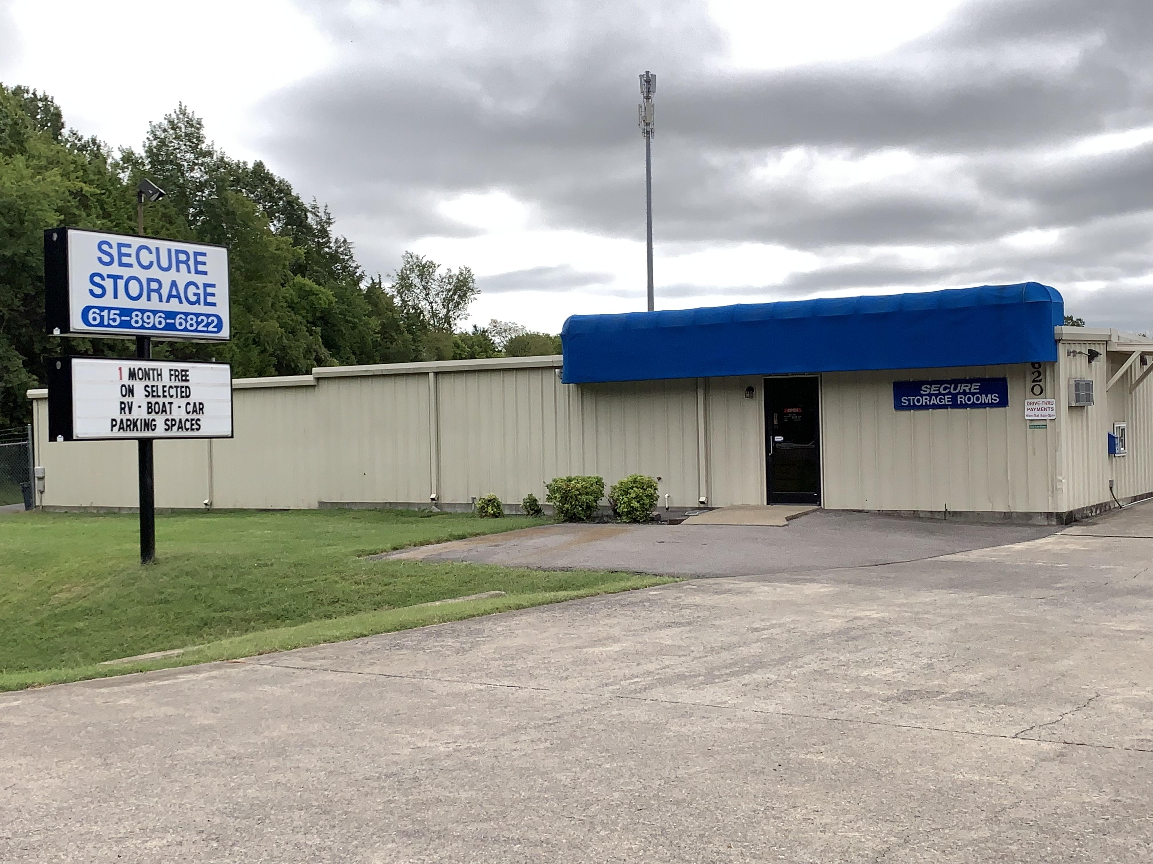 Secure Storage Units in Murfreesboro, TN