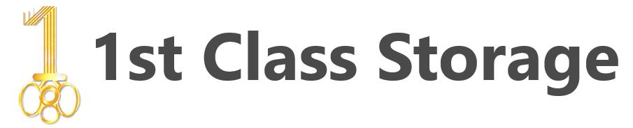 1st Class Storage Logo