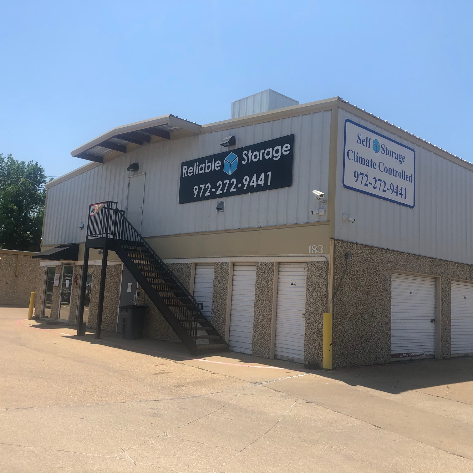 self storage and climate controlled storage in garland, tx