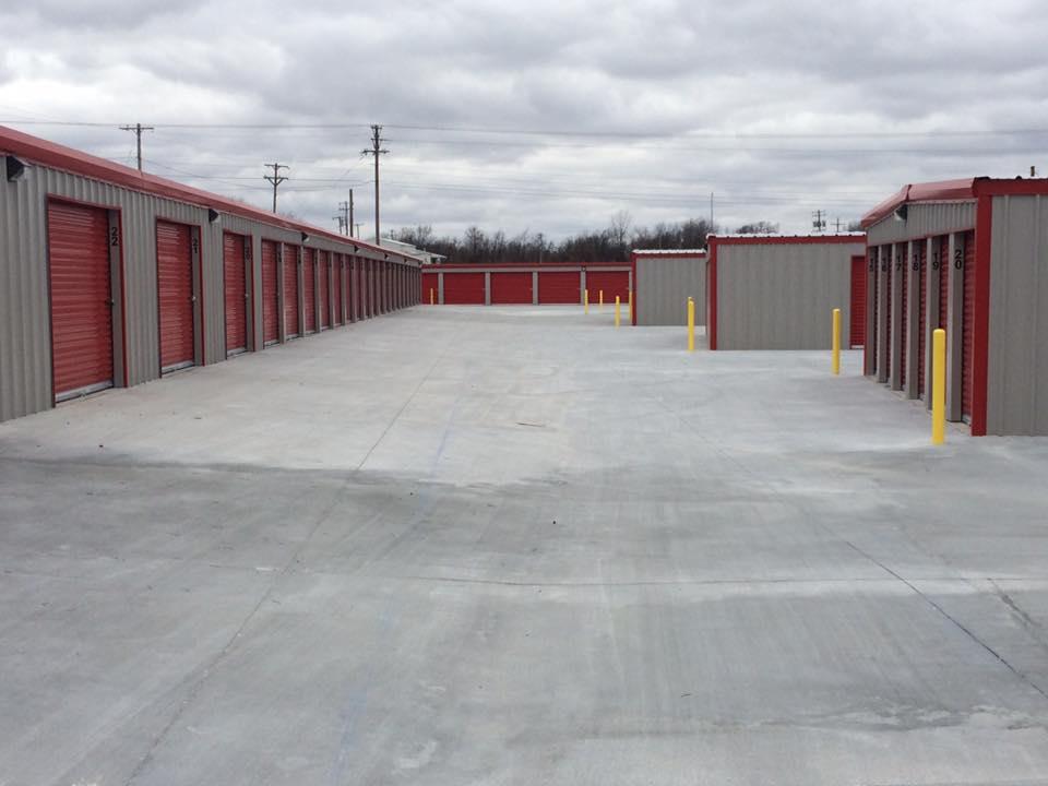 Exterior Storage Units