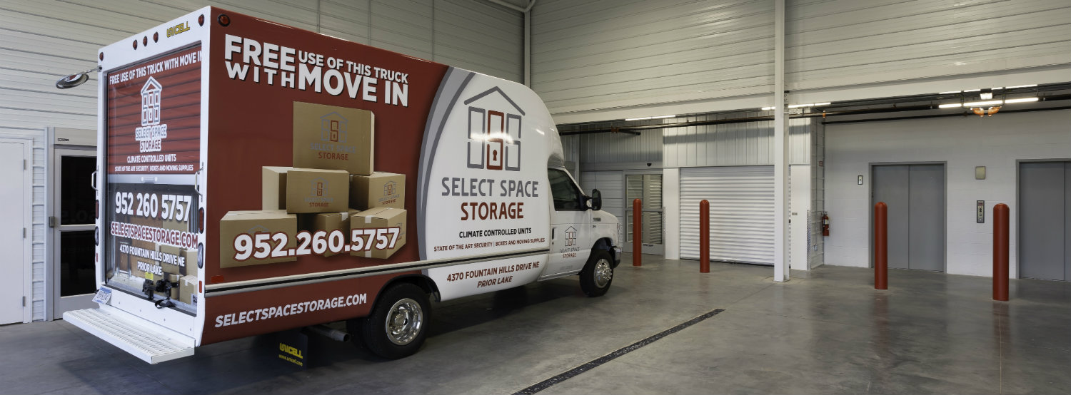 Free Move In Truck with Every Rental