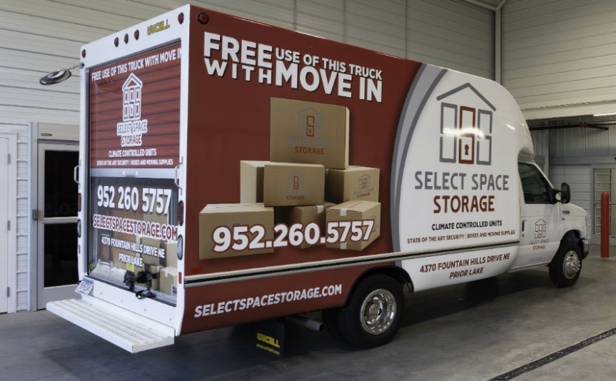Free move in truck rental with move in