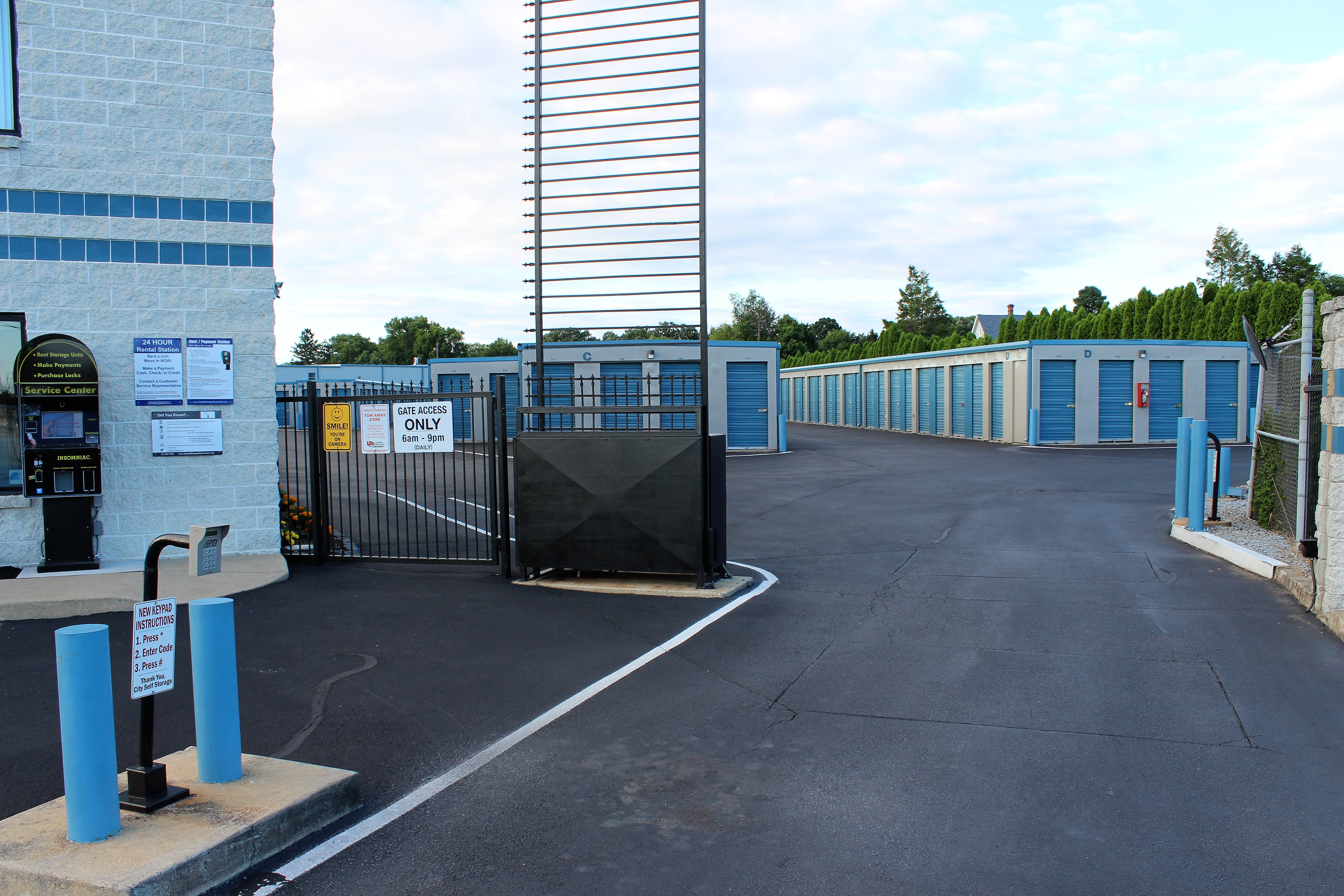 Gated facility in Lancaster, PA