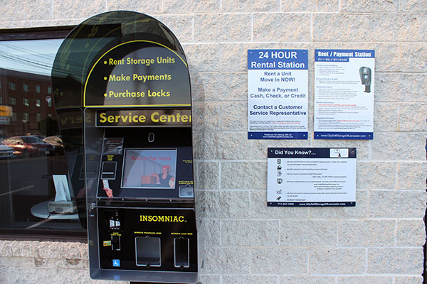 24 Hour self service kiosk in Lancaster, PA