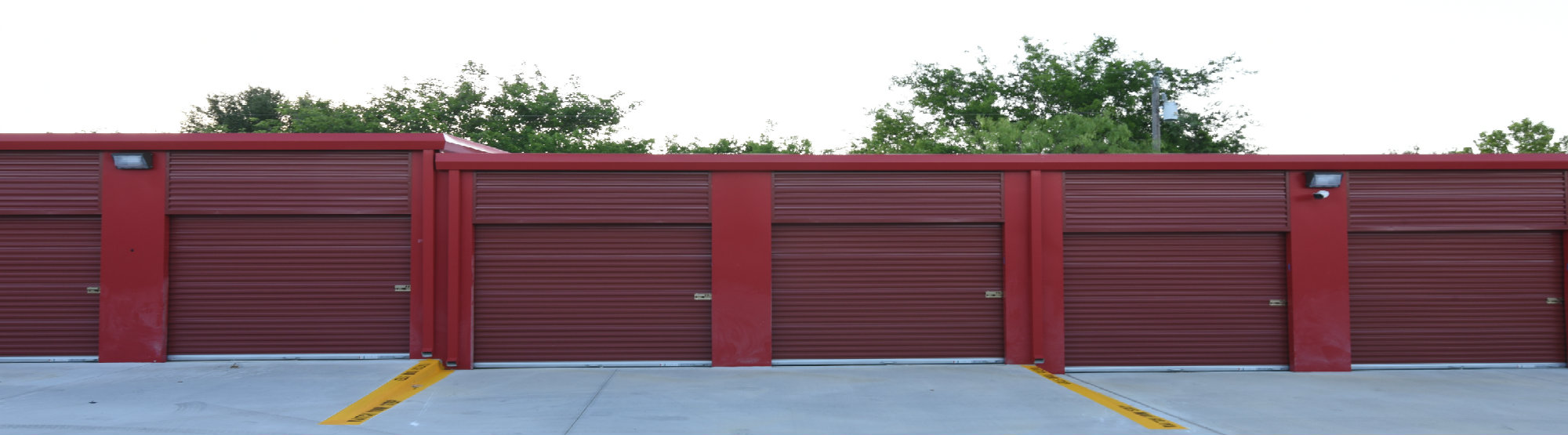 Secure Self Storage Facility: Wylie & Aledo, TX