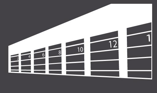 Illustration of Outdoor Storage Units