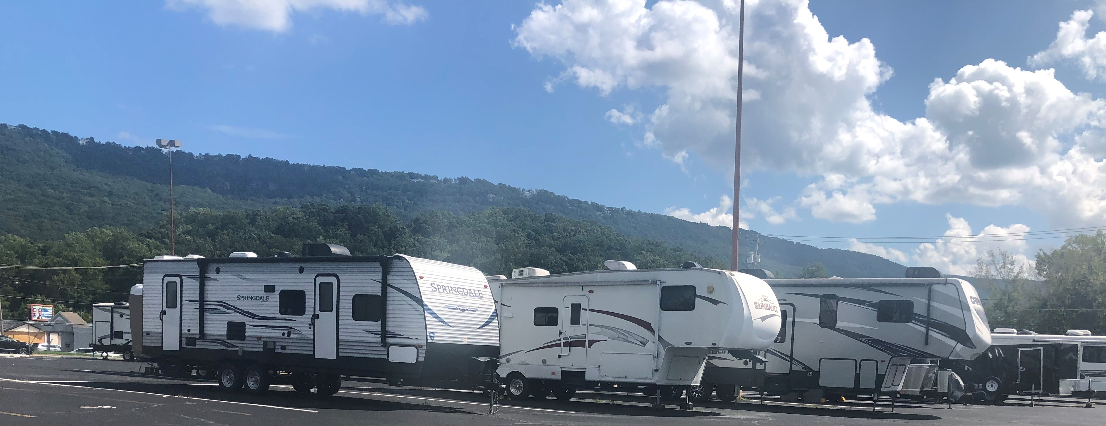 RV Parking in Chattanooga, GA