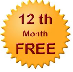 12th month free