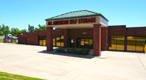 All-American Self Storage Facility in Tuscaloosa, AL