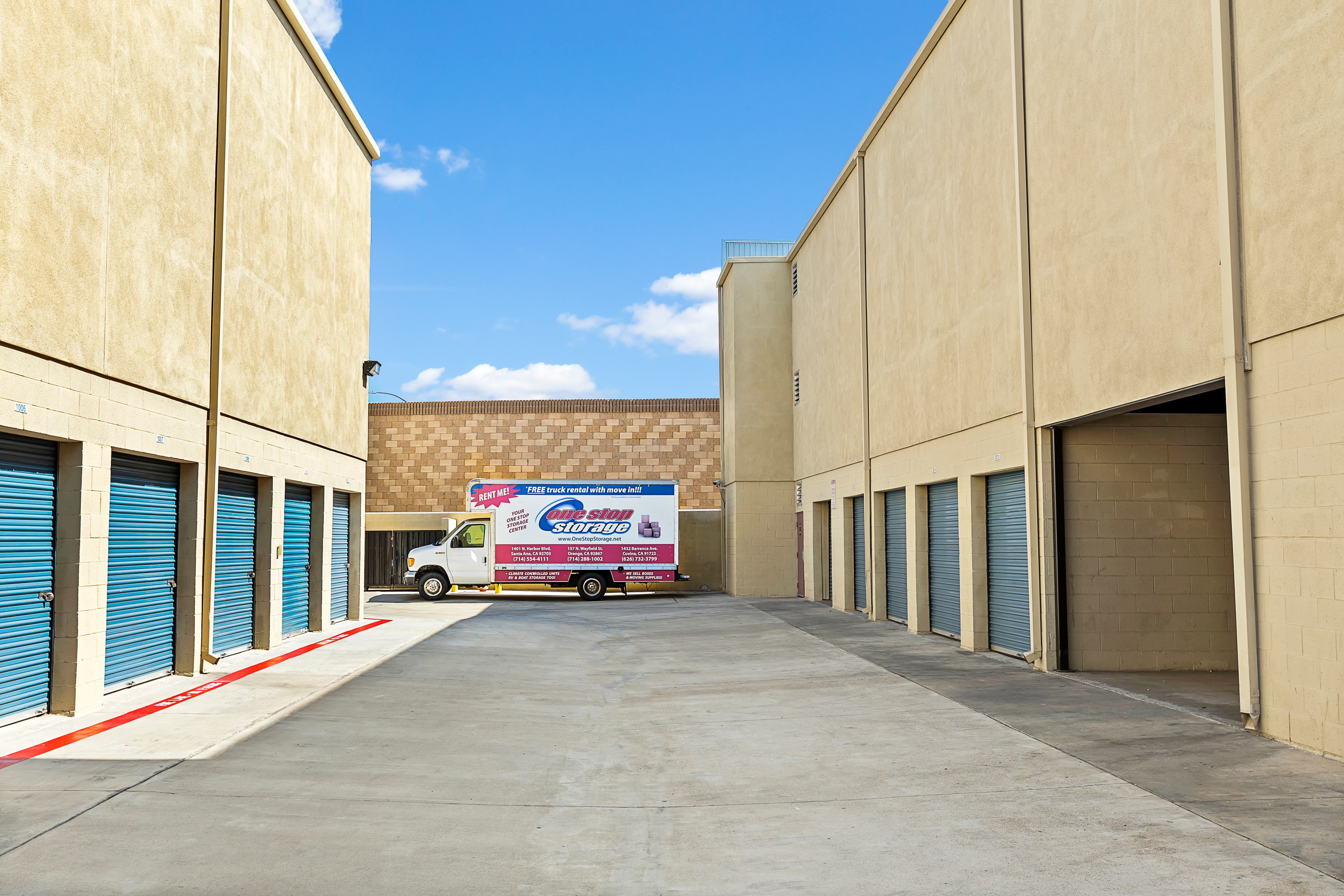 Drive Up Units in Orange, CA