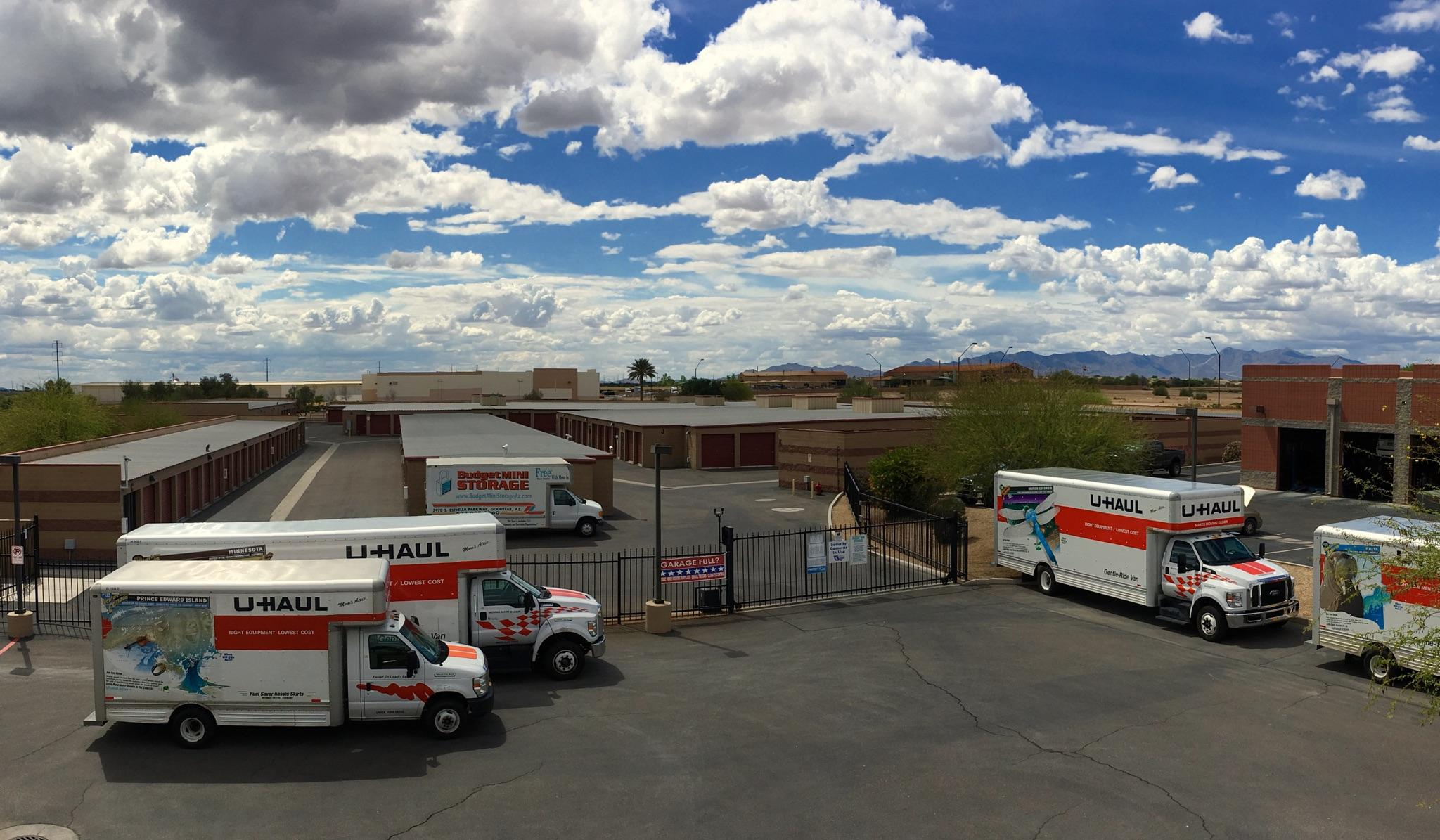 Uhaul Rentals in Good year, AZ