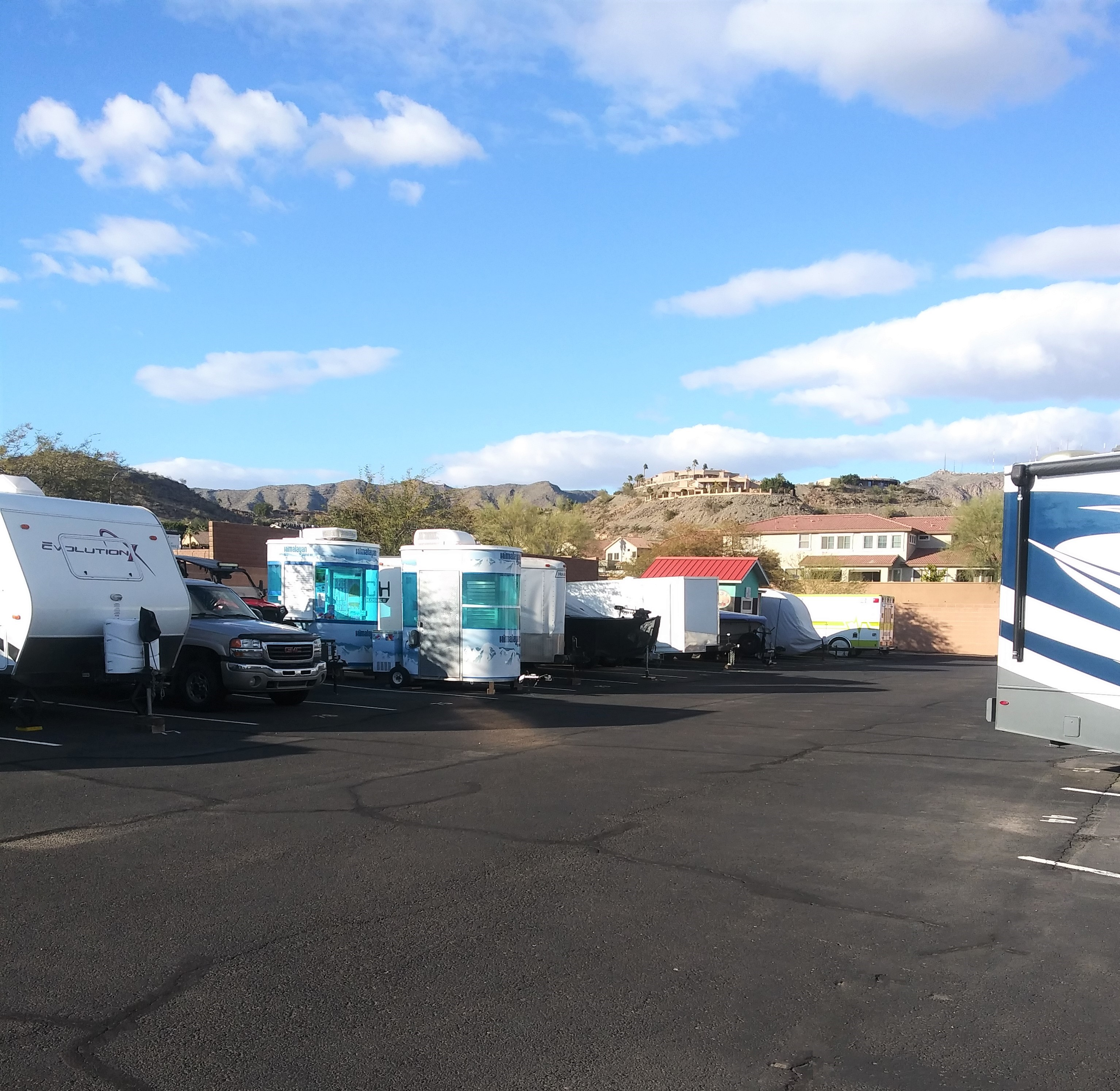 RV Storage in Phoenix, AZ