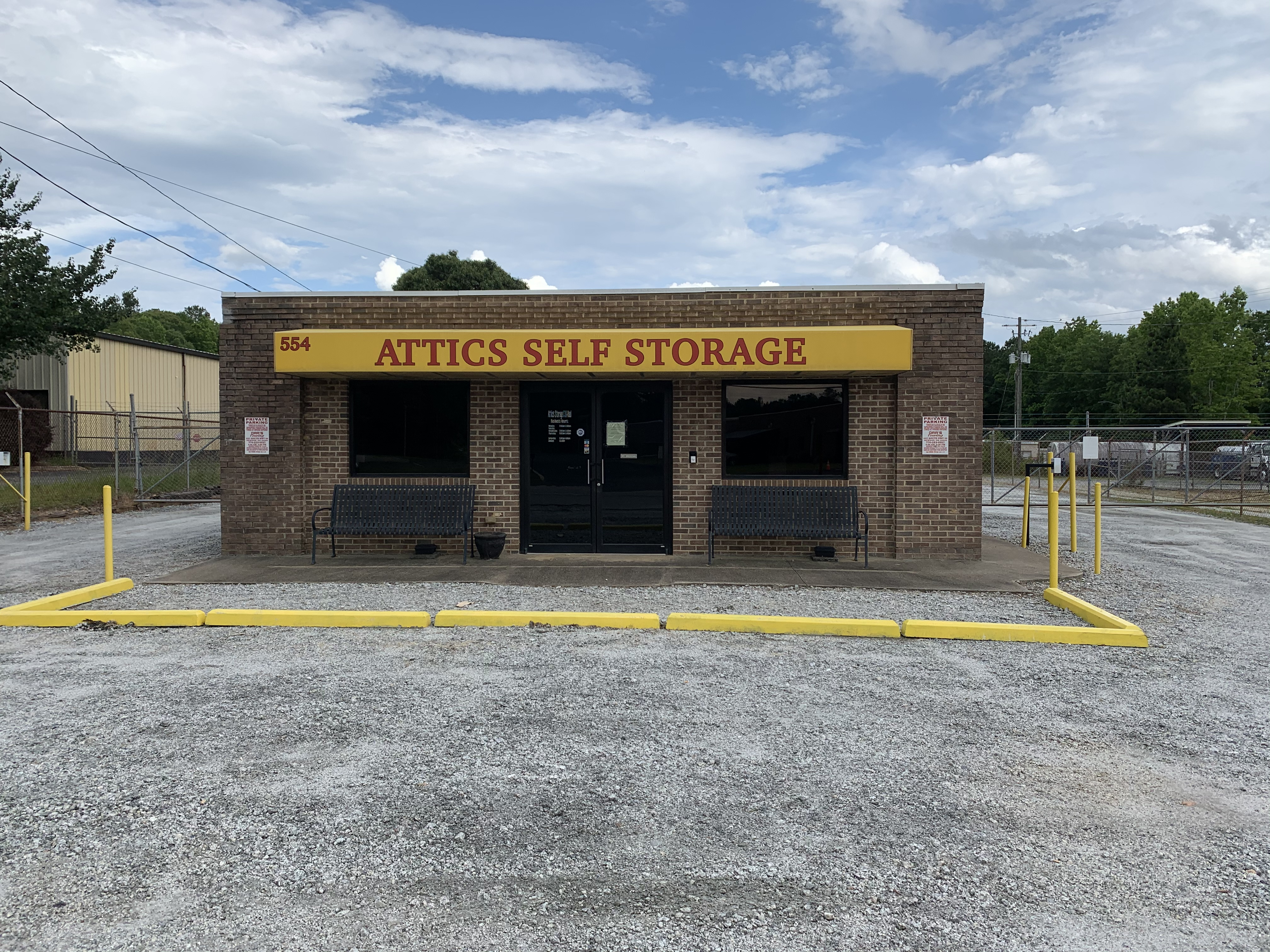 attics self storage in newnan, ga