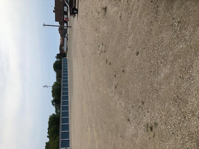 flat ground on lot