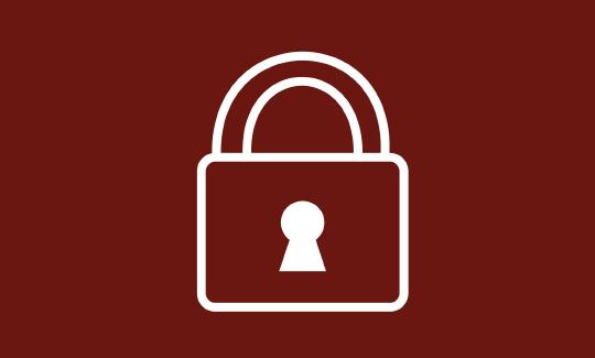 rendering of padlock