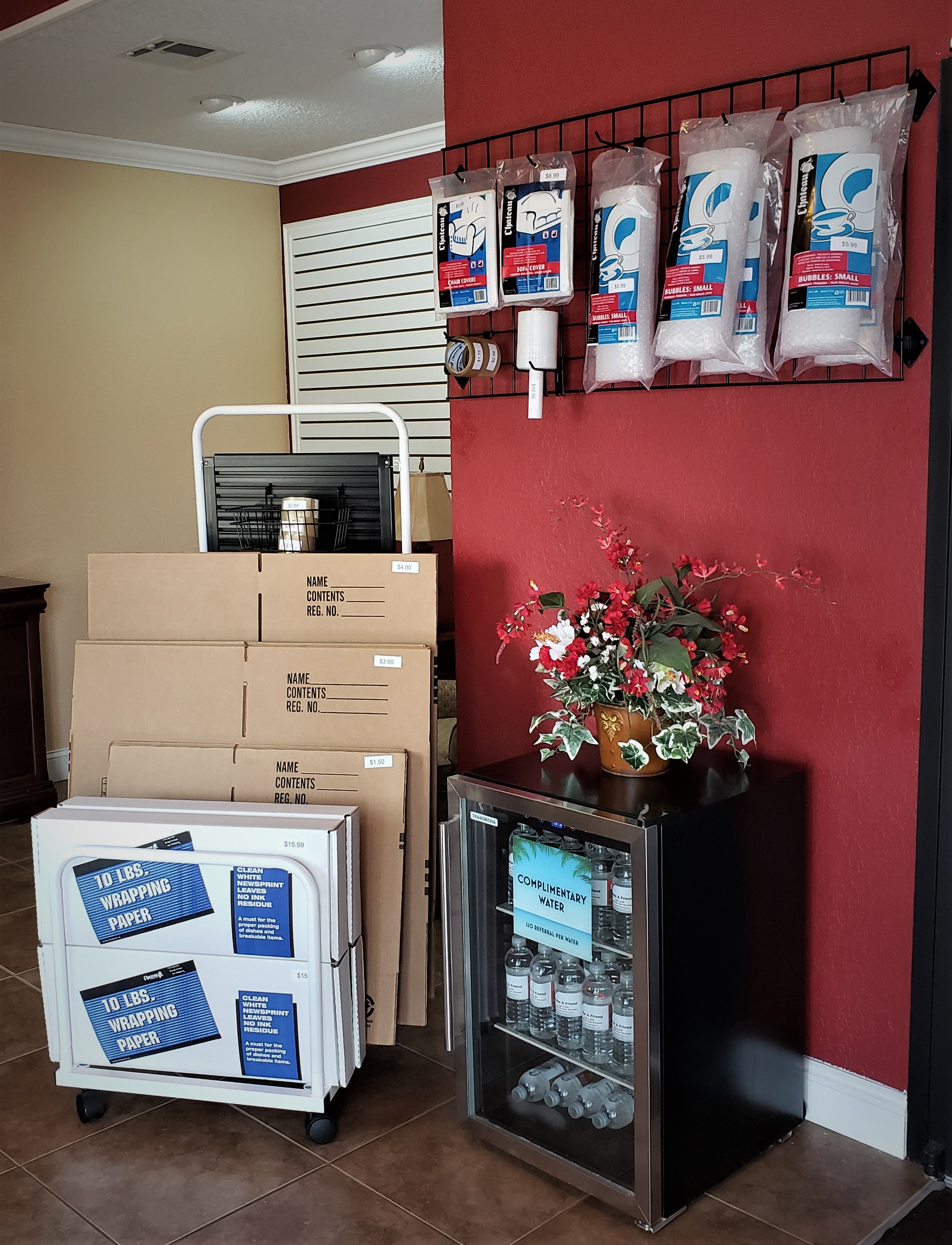 We sell Moving Supplies