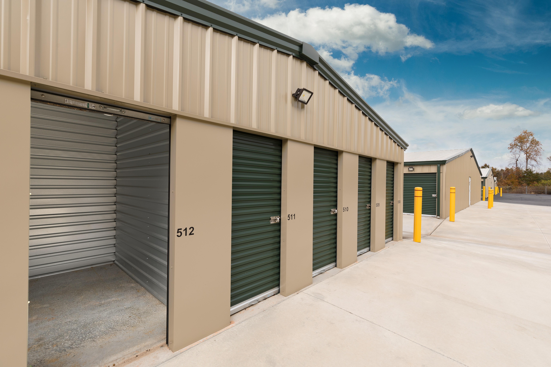 storage units with door open