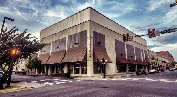 Downtown Storage building