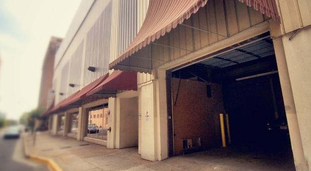 Downtown Storage access door