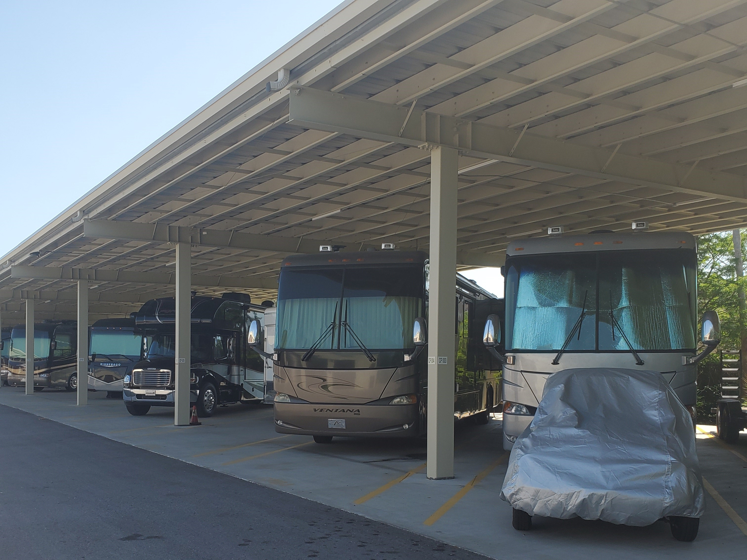Covered RV Parking in Largo, FL