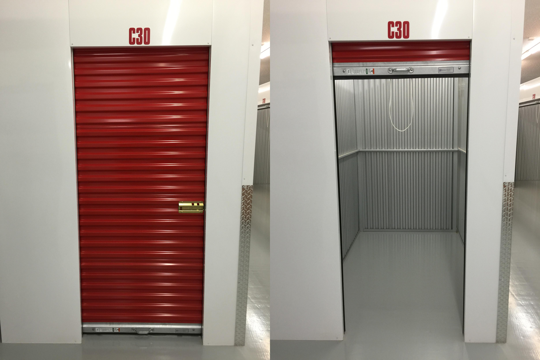 5' x 8' Climate Storage Unit