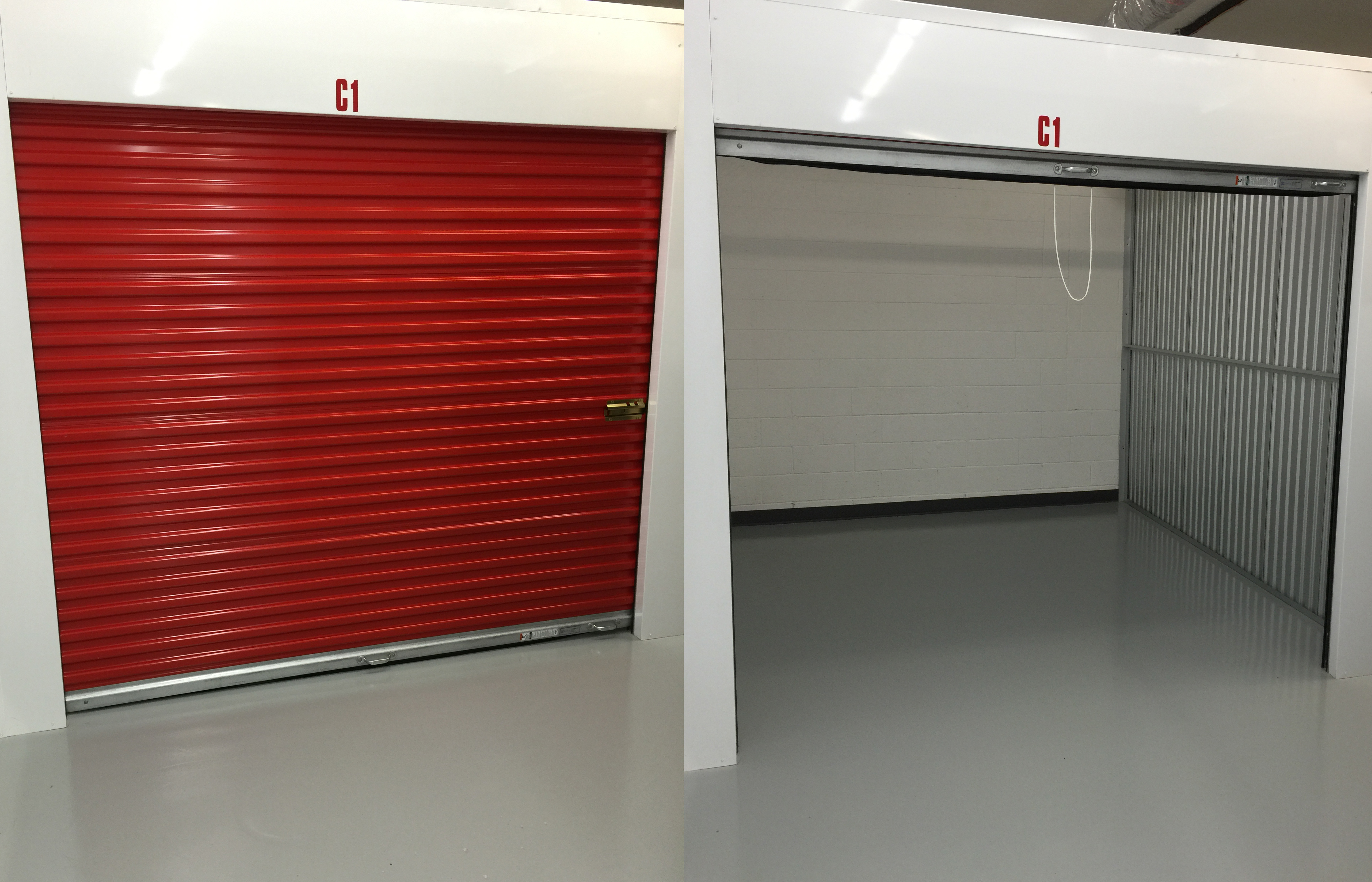 Indoor Heated & Air Conditioned Storage Units