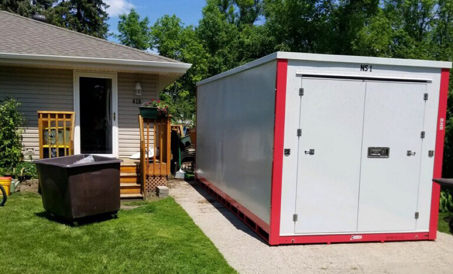 Portable Storage for Moving, Events, Business & Construction