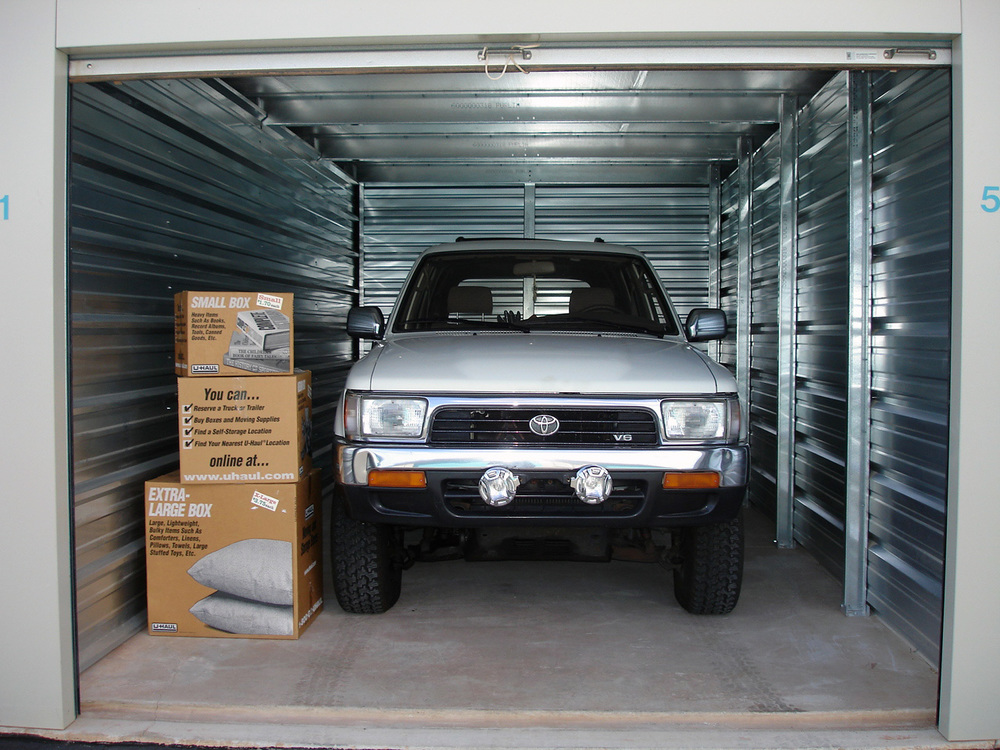 Vehicle storage Tips & Best Practices