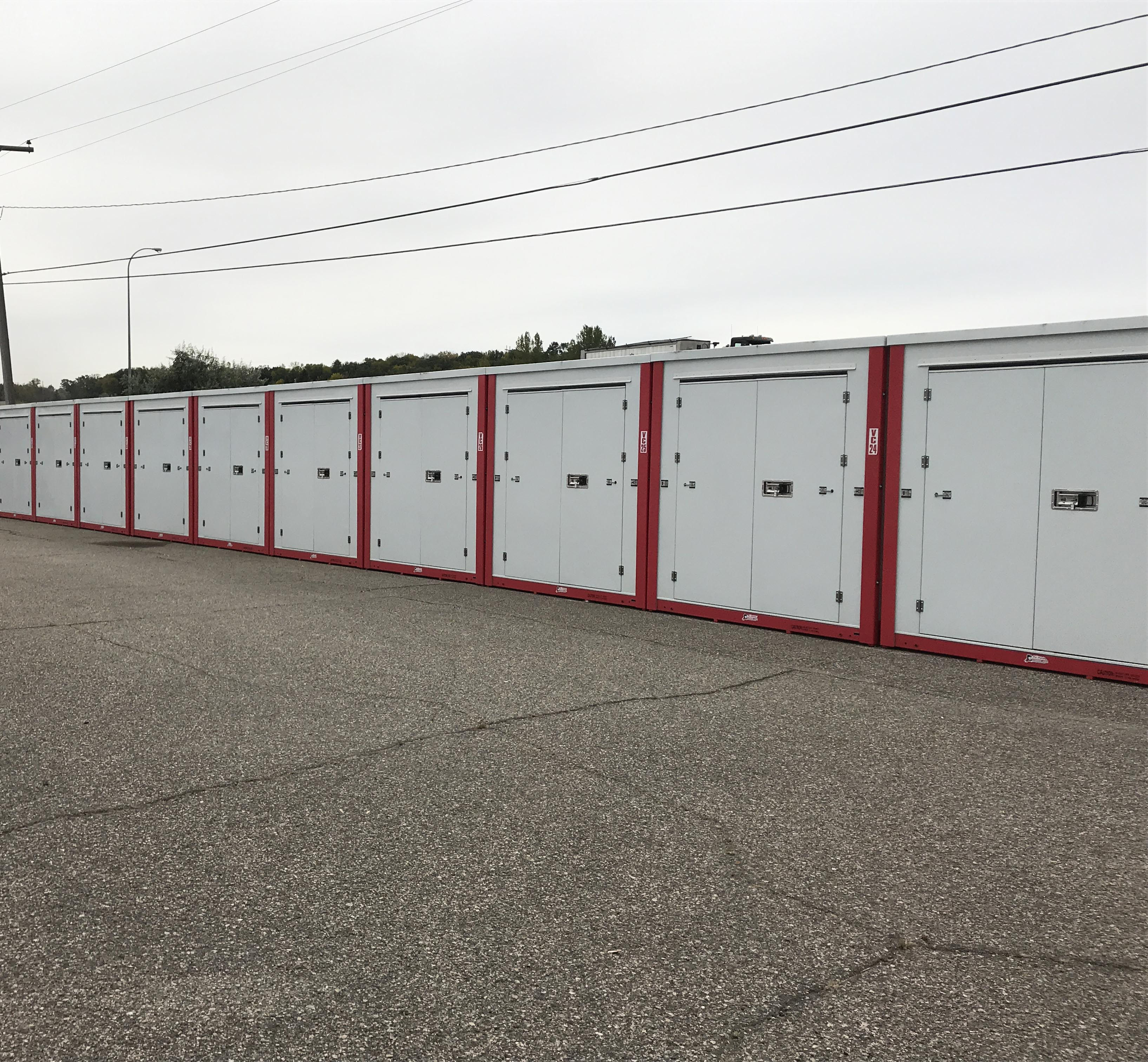 8'x20' Outside Storage Unit Containers
