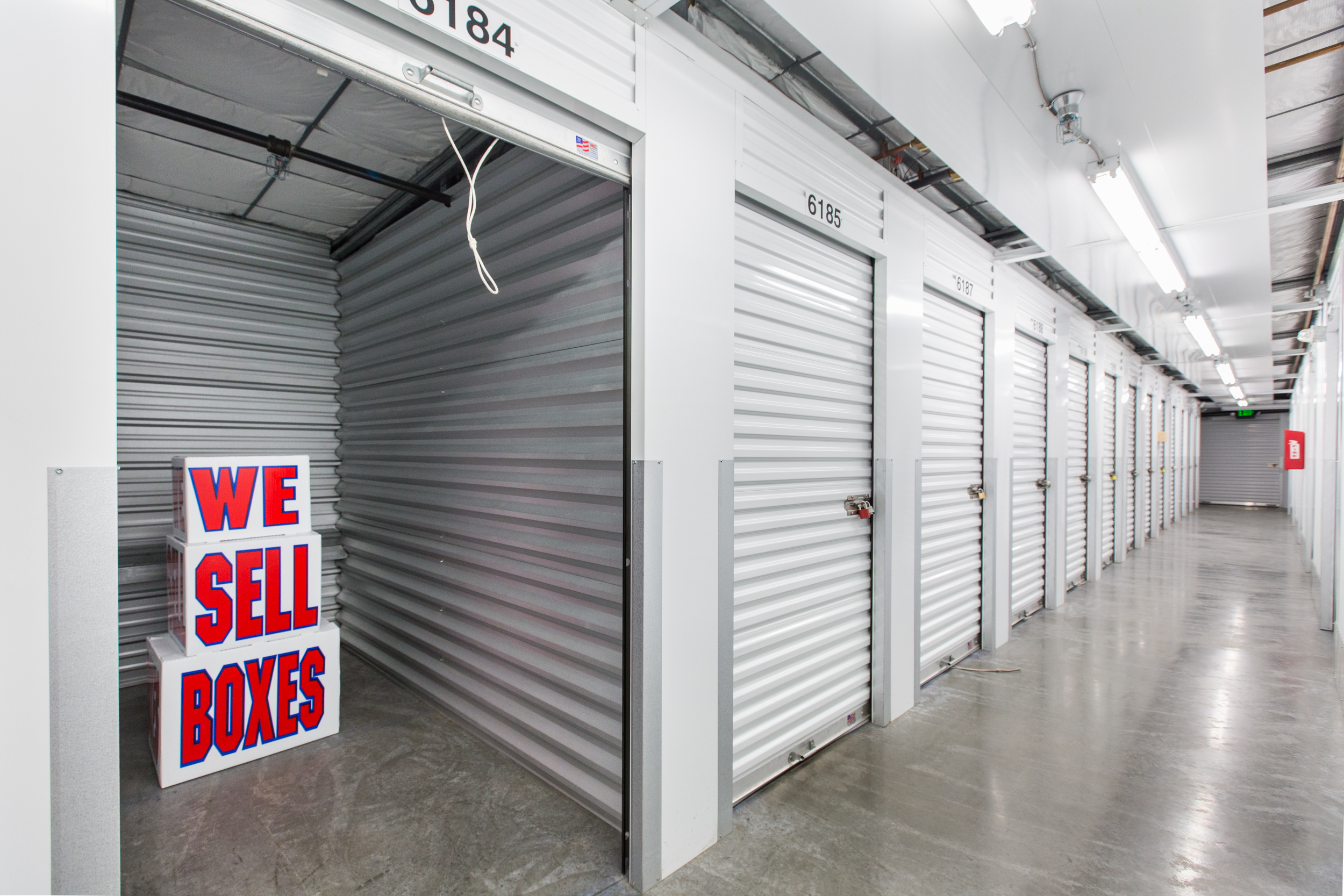 Clean Storage Units in Eagle River