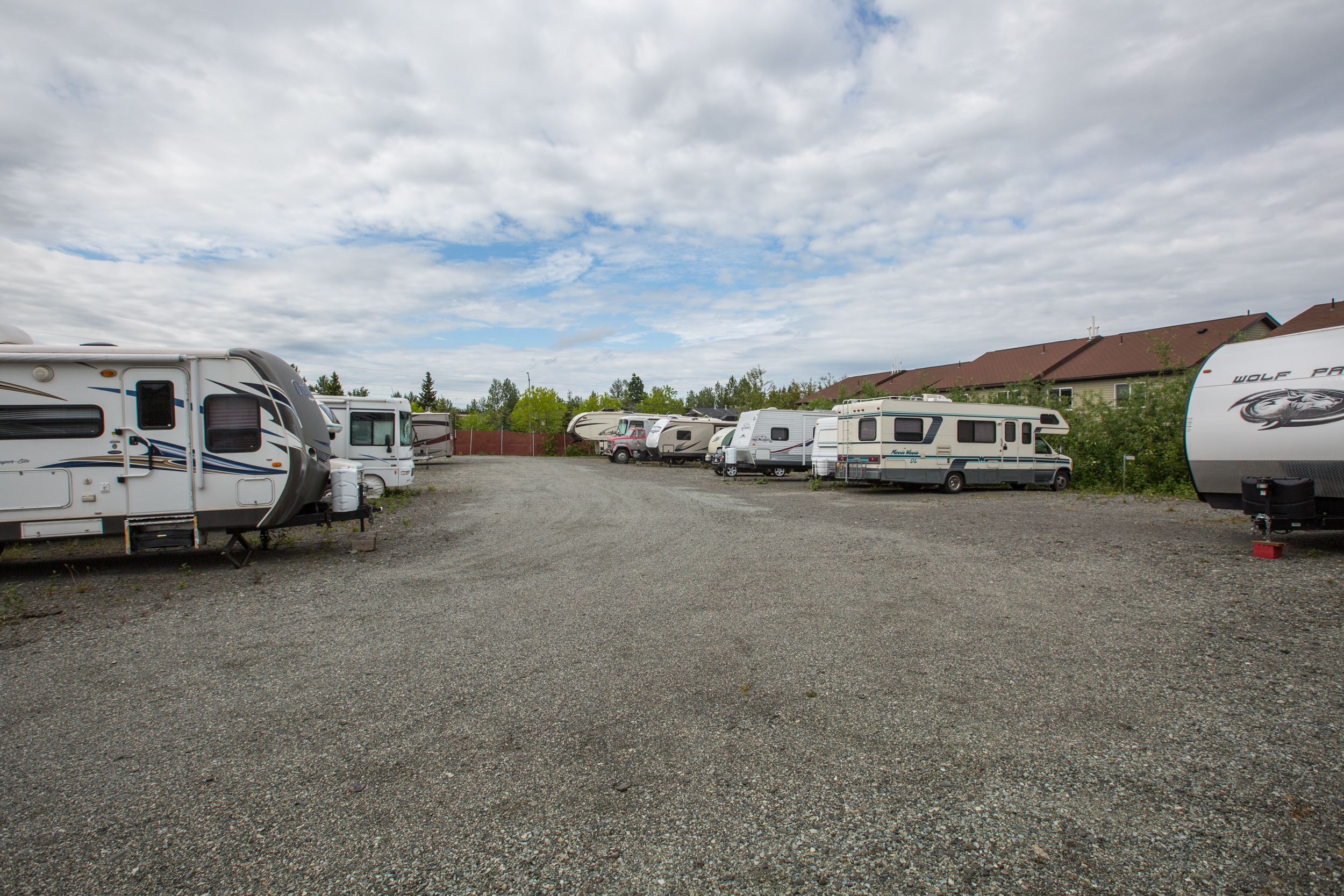 RV Parking in Eagle River