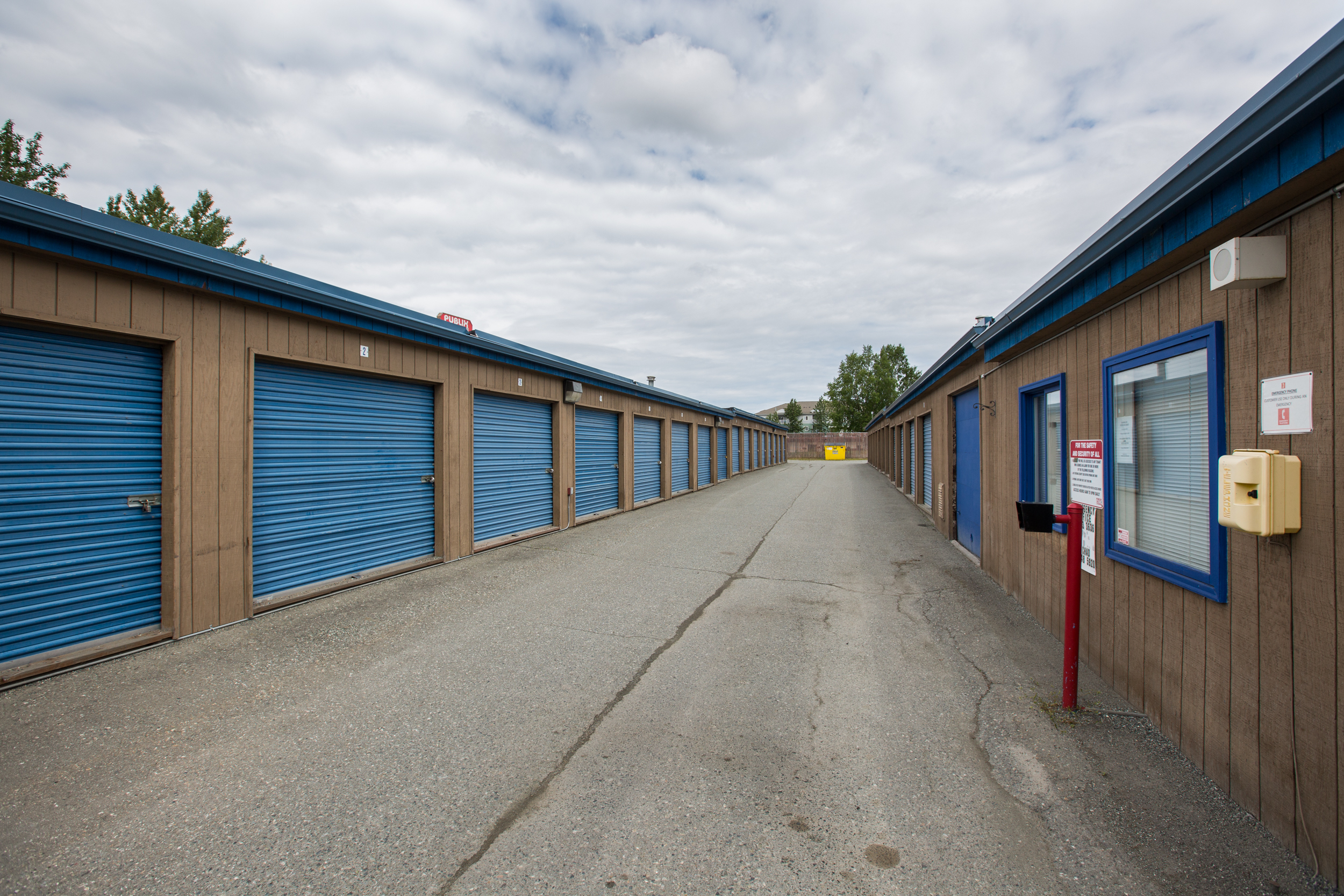 Unheated Storage Units in Anchorage