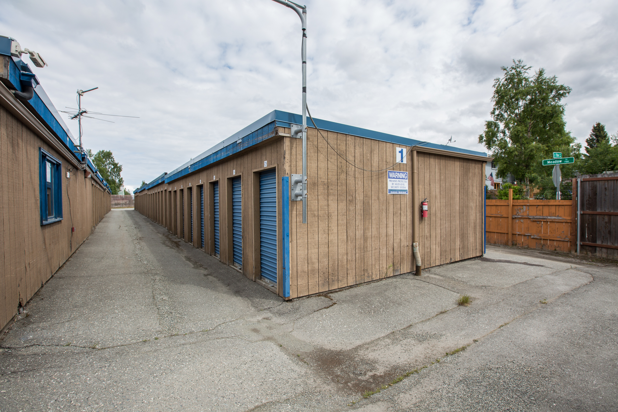 Drive-up Storage Units in Anchorage
