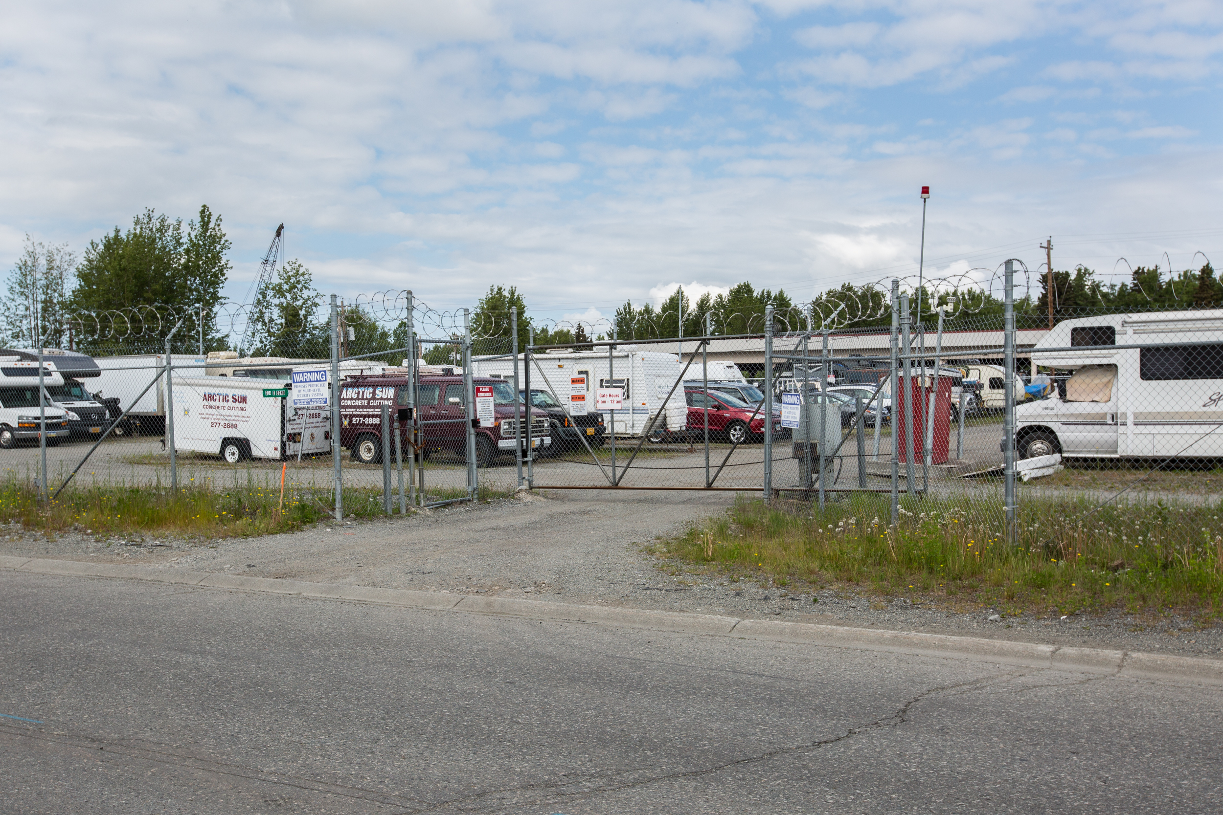 RV Parking in Anchorage