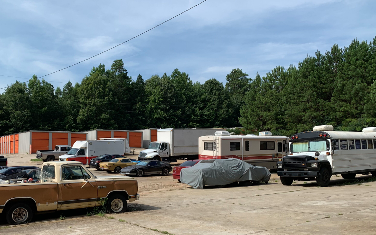 RV Parking Storage