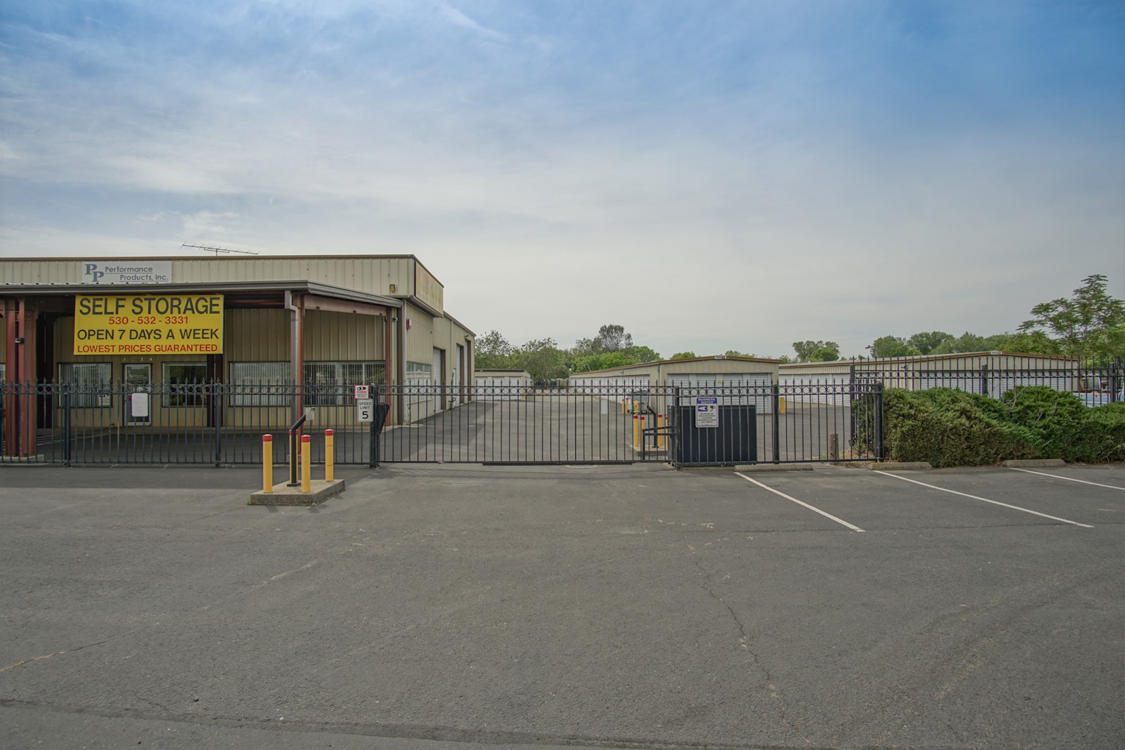 Self Storage in Oroville, CA