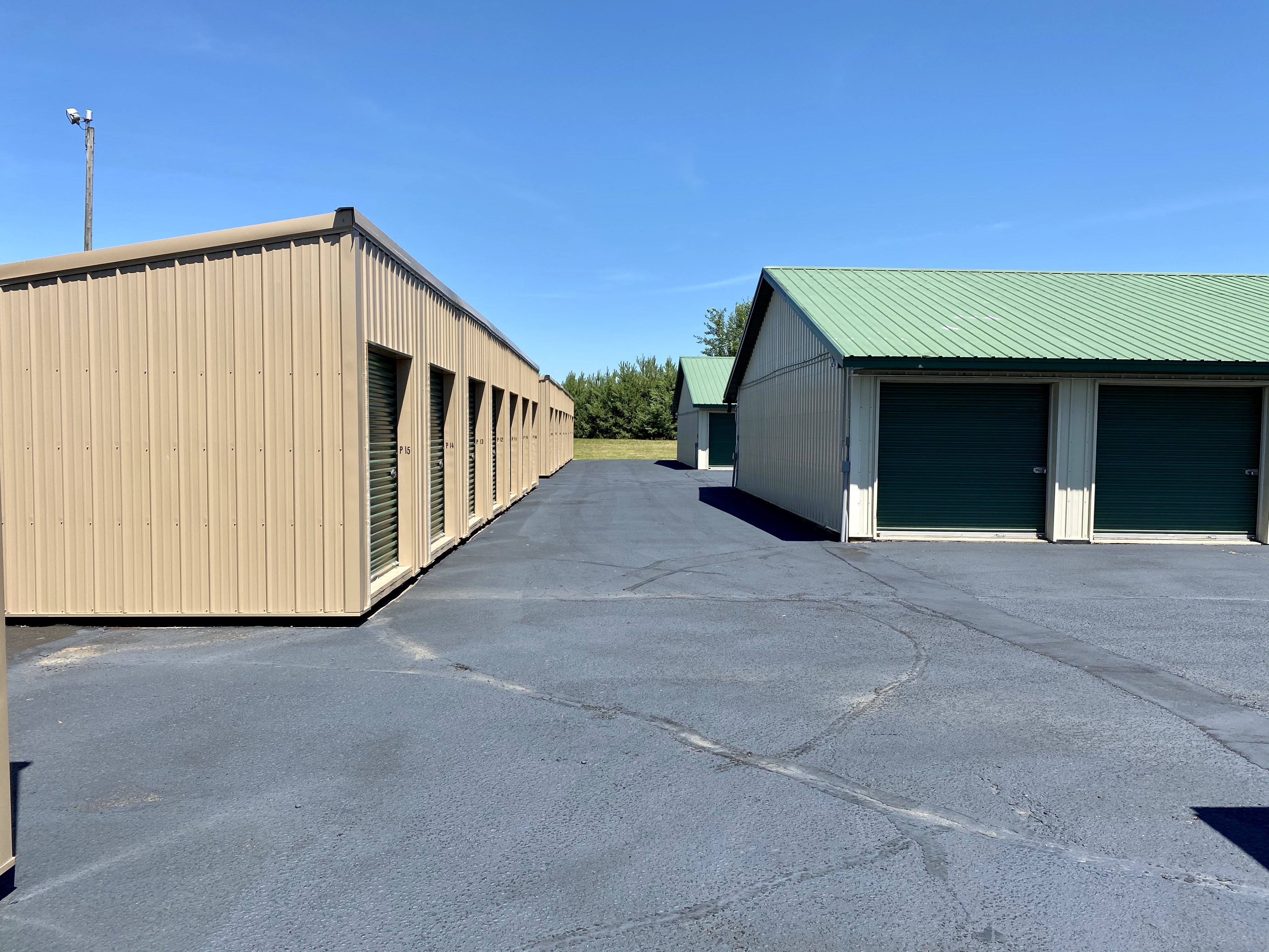 Small storage units - North Location